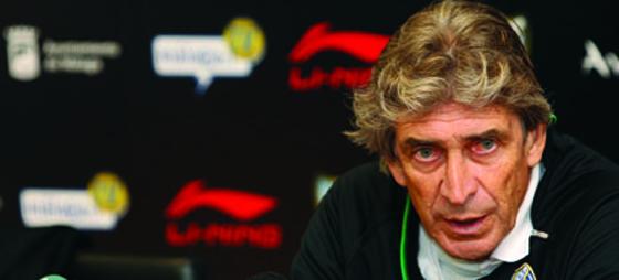 Den högt profilerade tränare Manuel Pellegrini