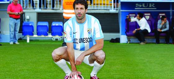 Ruud van Nistelrooy ger Málaga CF ett markant lyft