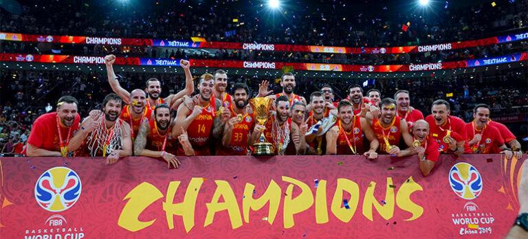 Spanien är världsmästare i basket