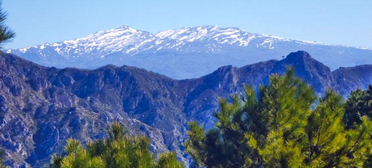 Altos de Jaloche och en bit av GR 7 – 2 panoramavandringar nästan utan höjdmeter