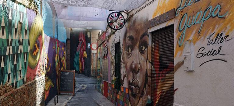 Nytt Soho-kvarter växer fram i Málaga