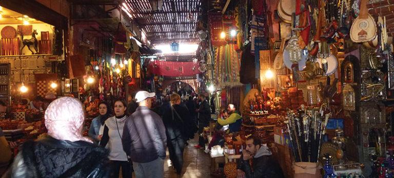 Marrakech – så nära men ändå så långt bort