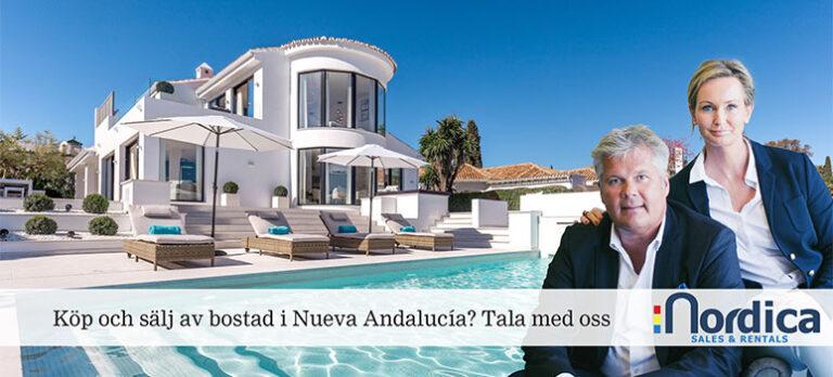 Nordica – din specialist på fastigheter i Nueva Andalucía
