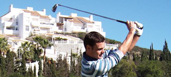 Gabriel satsar på golfen