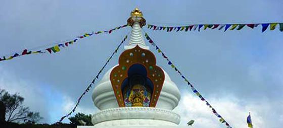 På besök hos Buddha