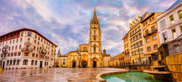 Jesus svetteduk i Oviedo