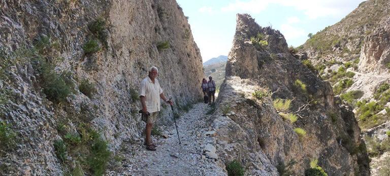 Molvízar, Romarstigen och Sierra del Chaparral