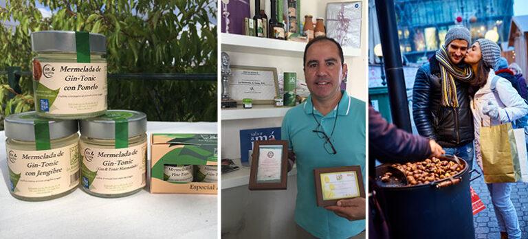 Sabor a Málaga: La Molienda Verde dukar upp med kastanjeprodukter och Gin & Tonic-marmelad