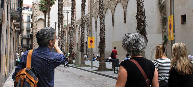 I fotspåren på hemlösa i Barcelona