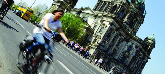 Berlin – bäst från cykelsadeln