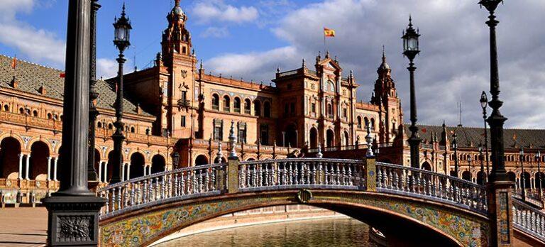 Hela Spanien i en halvcirkel