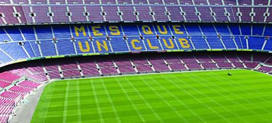 Fotbollshistoria och arenabesök på Camp Nou