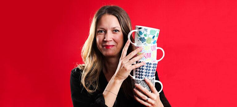 Linda Svensson Edevint – Designar mönstren till ditt hem