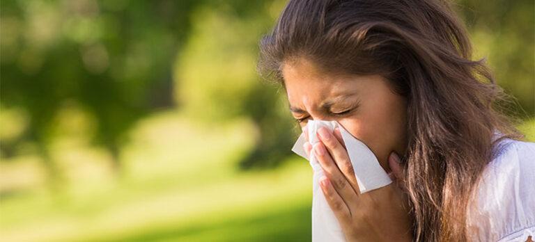 Lider du av allergi?
