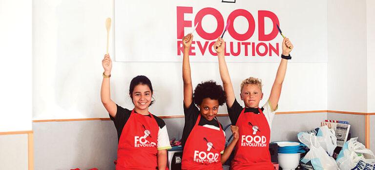 Jamie Oliver presenterar: En revolutionerande matdag