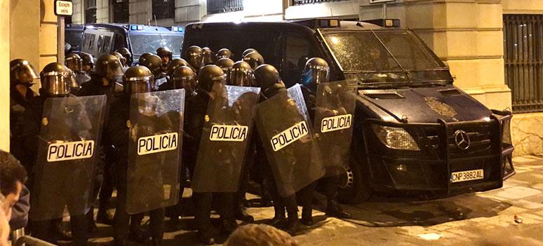 barcelona politi