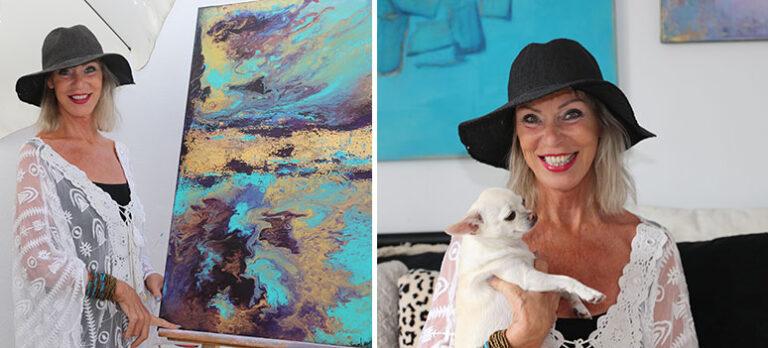 Magga Nancy: Kreativt lugn, glädje och trygghet i färger