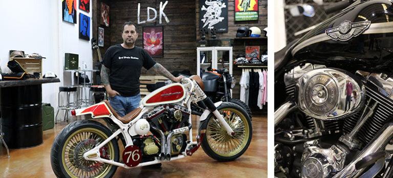 Världens snyggaste Harleys byggs i Vélez-Málaga