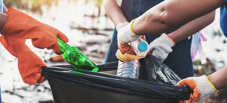 Plocka skräp – befria din stad från sopor