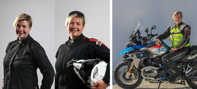 Maria Thorsson: Nyfiken och tuff präst njuter av friheten på sin motorcykel