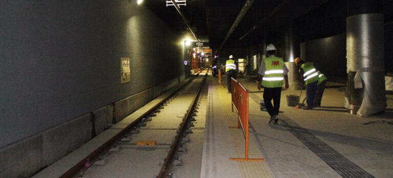 Tunnelbanebygget i Málaga är på spåret igen