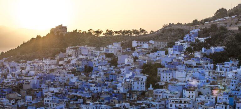 Marockos blå pärla