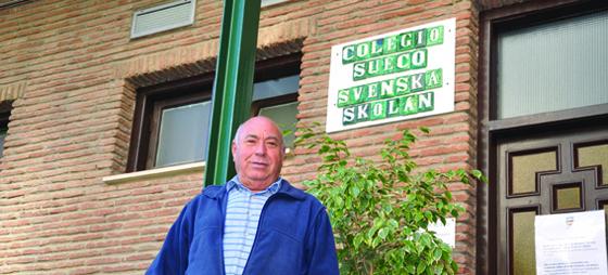 Antonio – mange års trogen tjänst på Svenska Skolan, nu är det dags för egen tid och resa