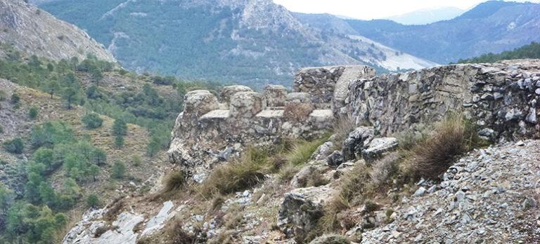 Trollrutten och skyttegravarna vid Granada