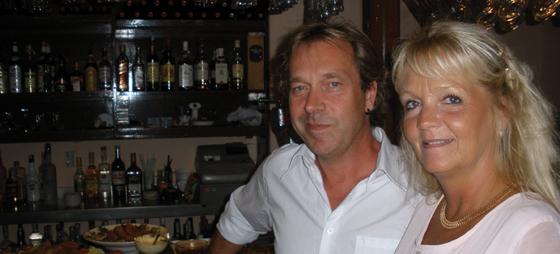 Här har vi det nya krögarparet på Golden Days i Fuengirola, Marcus och Christina Rubin