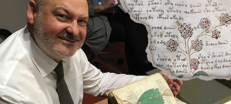 Världens mest mystiska bok Voynichmanuskriptet