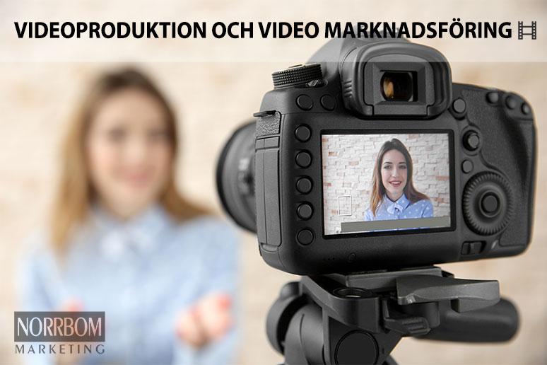 Videoproduktion och video marknadsföring