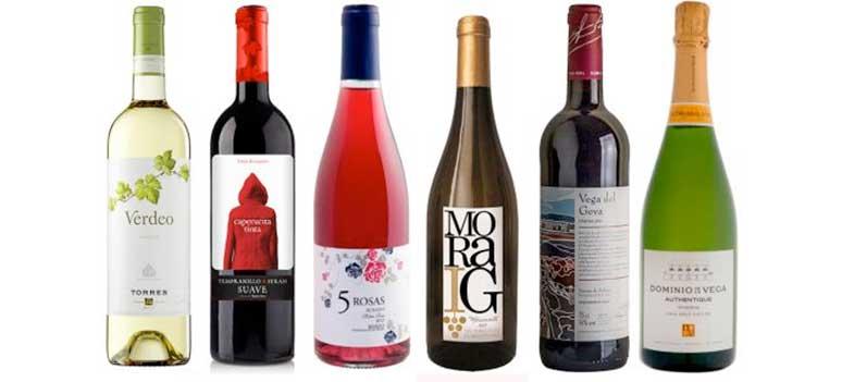 Här ses ett urval av de 150 rekommenderade vinerna ur Los Supervinos 2017.