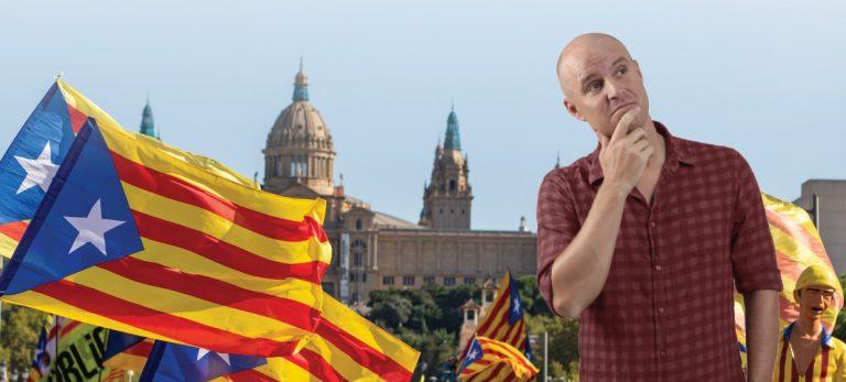 På andra sidan... Tröttnar katalanerna aldrig?