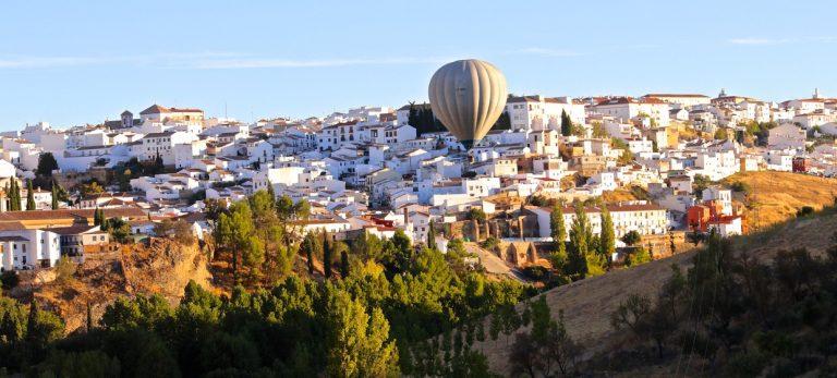 Högt upp i det blå med En Sueco – Ballongtur över Ronda