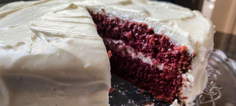 Veras Veranda: Red velvet-kaka