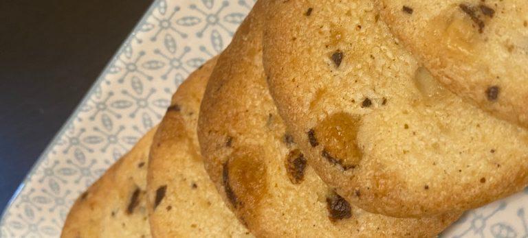 Veras Veranda: Småkakor med marsipan och choklad
