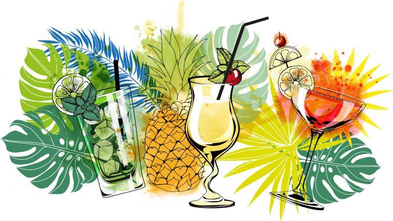 Svalkande kubanska cocktailar