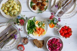 Allt det goda till sommaren finns hos din nordiska matbutik