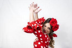 Varför är det prickar på flamencoklänningarna?