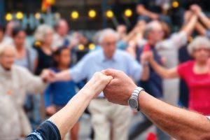 Noche en Blanco, firande för äldre i Fuengirola 21 juni