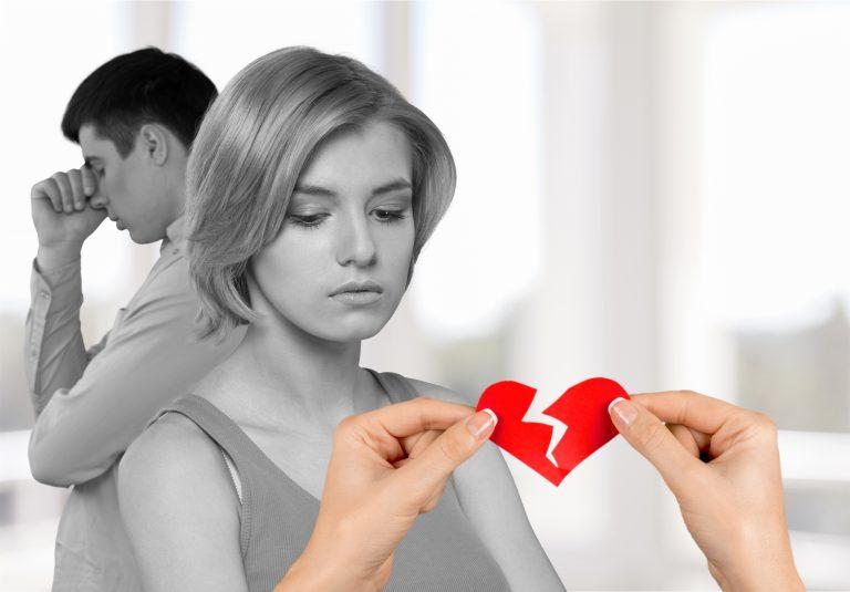 Skilsmässor och separationer har ökat 5,7 %