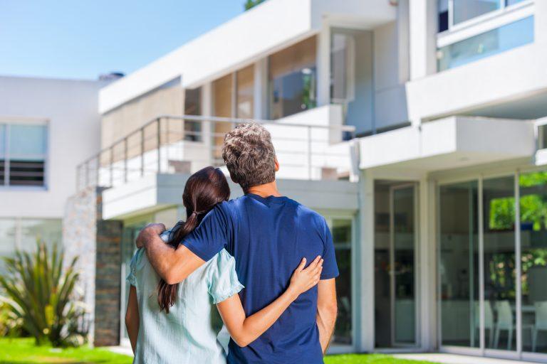 Stor ökning av fastighetsförsäljningen