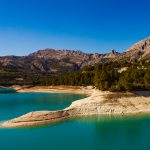 Málagaprovinsens vattenreservoar under 50 %