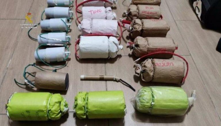 Illegal bombfabrik upptäckt i bostadshus i Sevilla