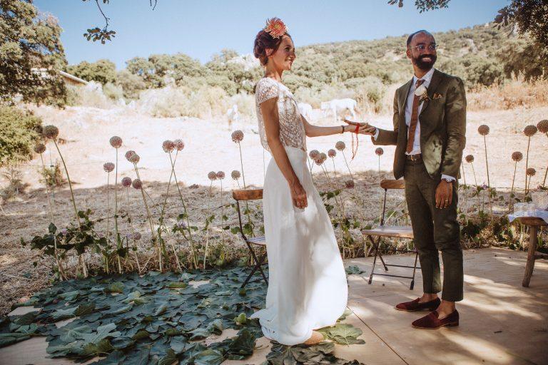 Den naturliga och charmiga platsen för bröllop