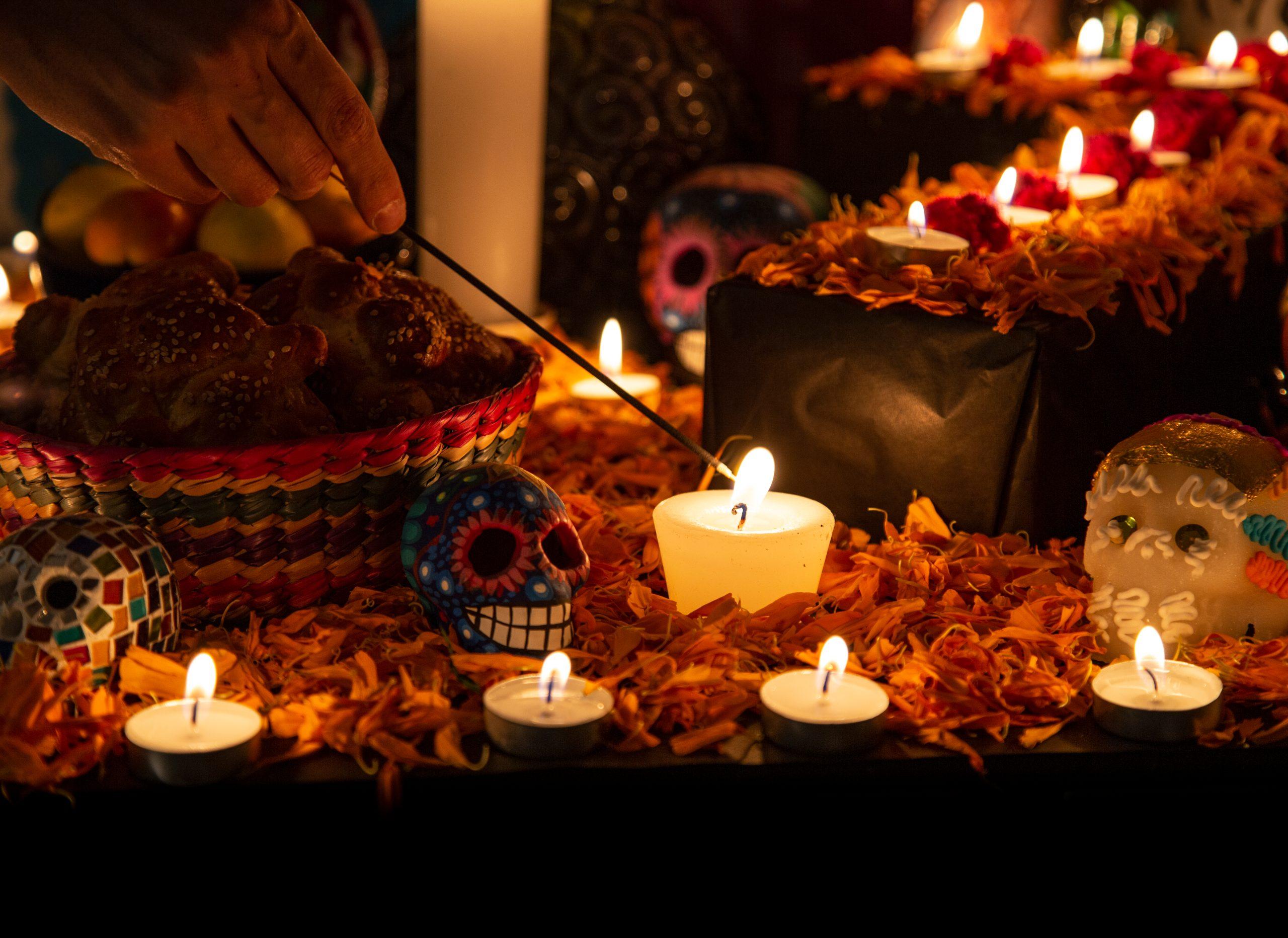 Besök de kära döda på Allhelgonadagen
