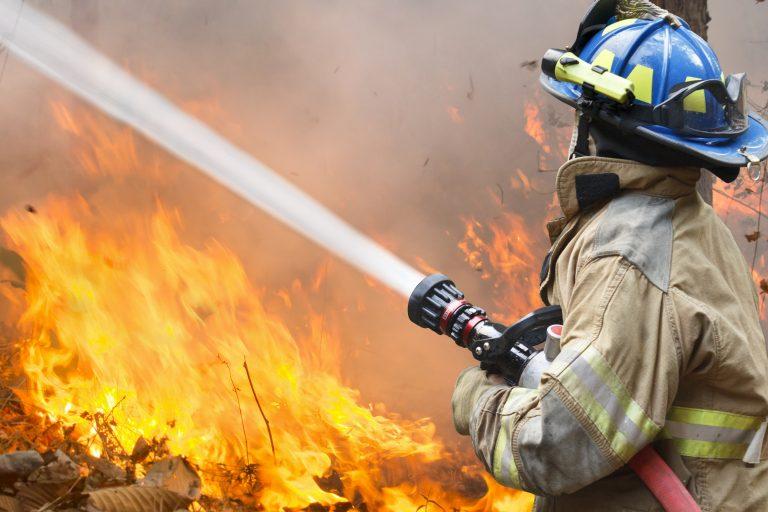 Äntligen hopp om att få stopp på skogsbranden