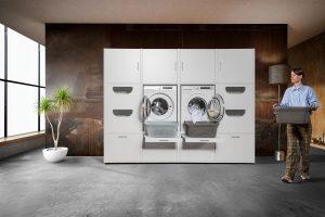 Washtower – ett modulsystem för att designa dina egna tvättstugeinredning