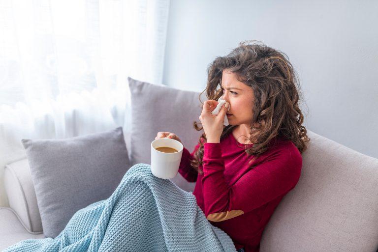 Förkylning och influensa
